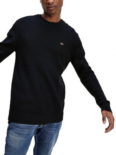 Knitwear Man Black Tommy Jeans