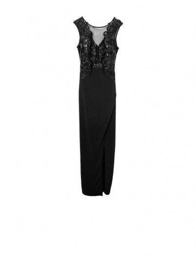 Dress Woman Black Lipsy