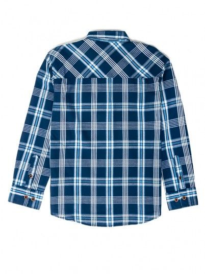 Shirt Boy Navy Blue Tiffosi Kids