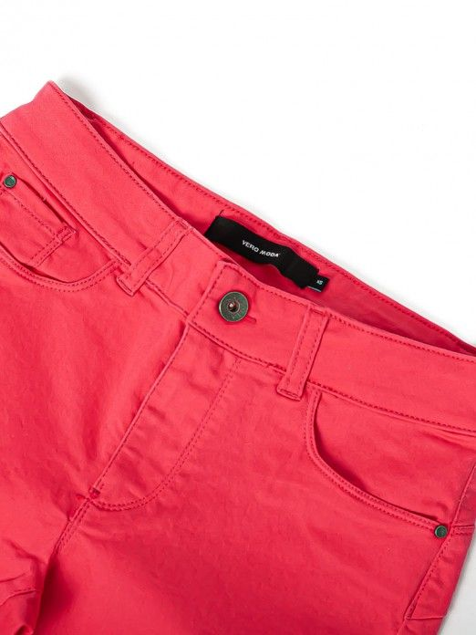 Pants Woman Rosa Fuchsia Vero Moda