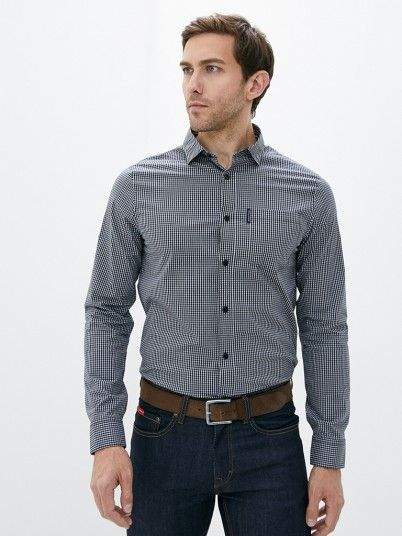 Shirt Man Dark Blue Armani Exchange