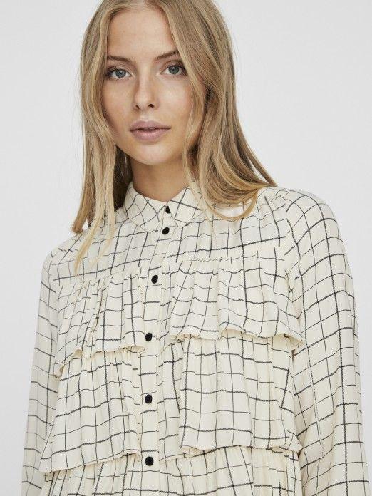 Camisa Mulher Irene Ls Vero Moda