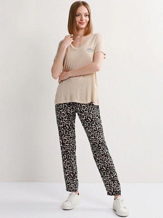 T-Shirt Mulher Joanna Vero Moda