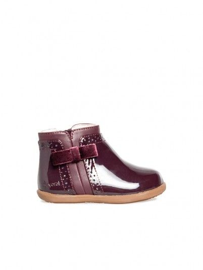 Boots Baby Girl Bordeaux Mayoral