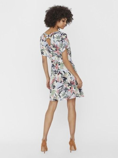 Dress Woman Multicolor Vero Moda