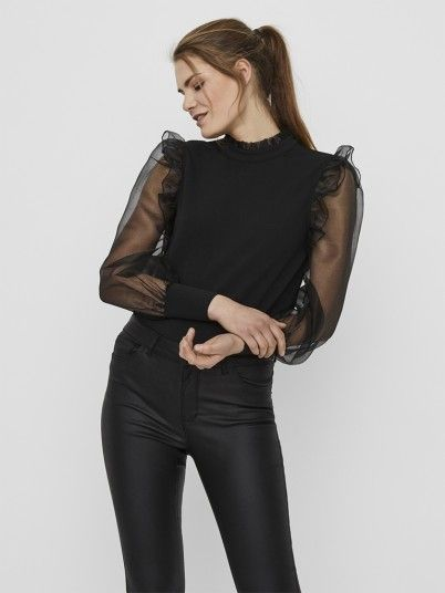 Knitwear Woman Black Vero Moda