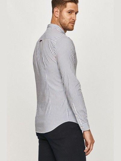Camisa Homem Stripe Tommy Jeans