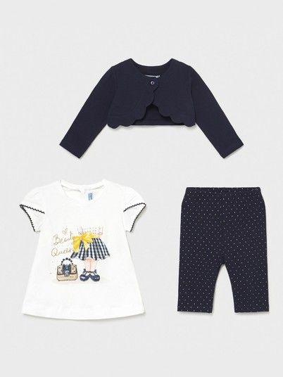 Set Baby Girl Navy Blue Mayoral