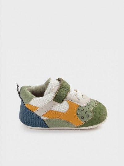 Sneakers Baby Boy Green Mayoral