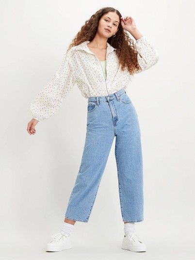Jeans Mulher Balloon Levis