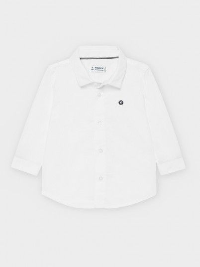 Shirt Baby Boy White Mayoral