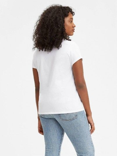 T-Shirt Woman White Levis
