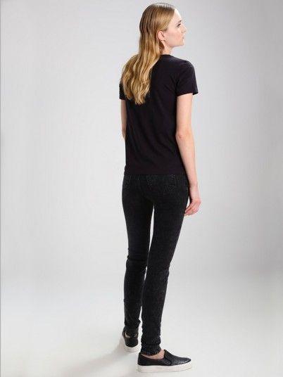 T-Shirt Femme Noir Levis