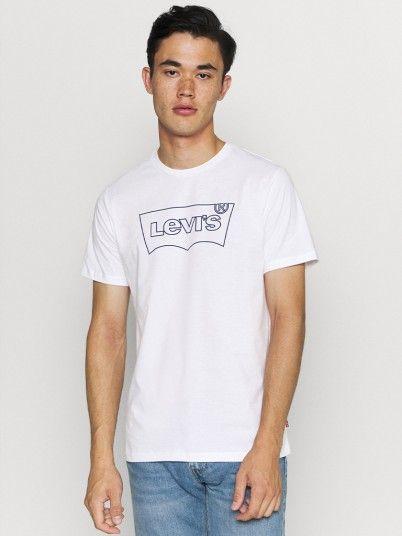 T-Shirt Homme Blanc Levis