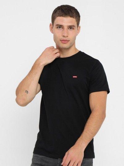 T-Shirt Homme Noir Levis