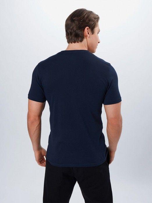 T-Shirt Homem Wobbly Logo Lee