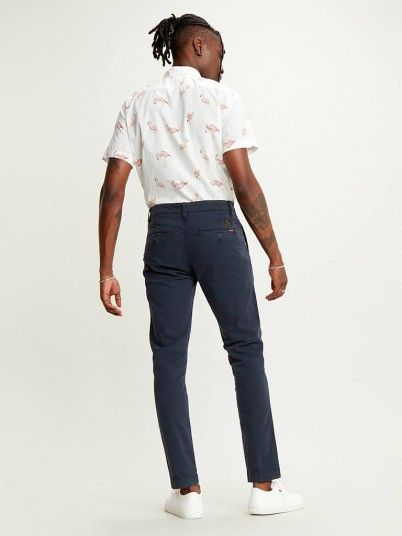Pants Man Navy Blue Levis