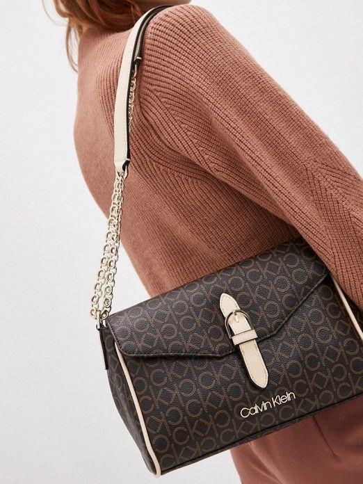 Bolsa Mulher Conv Flap Calvin Klein