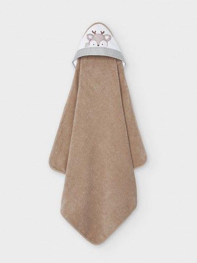 Towel Baby Girl Beige Mayoral