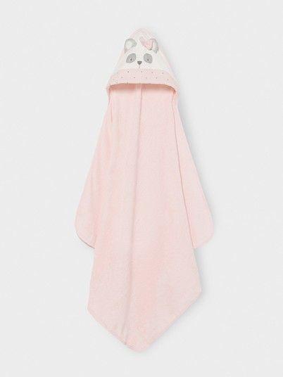 Towel Baby Girl Rose Mayoral