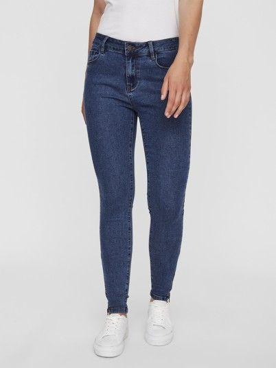 Jeans Mulher Hot Seven Vero Moda