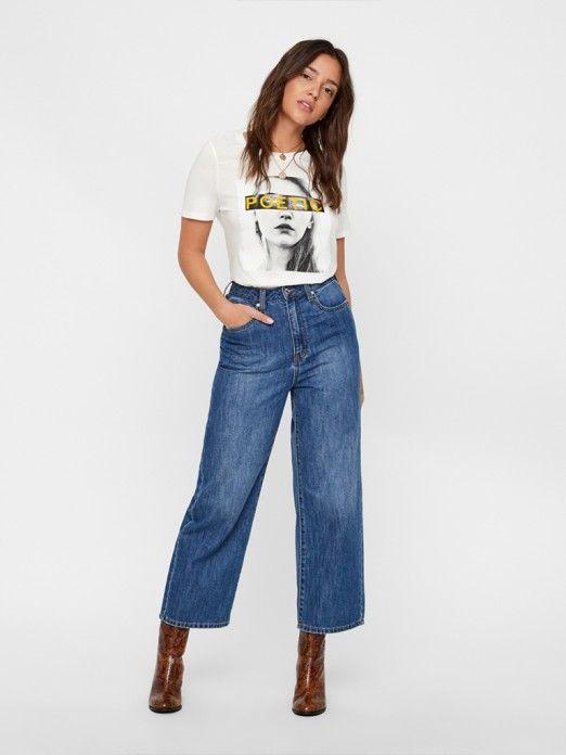 T-Shirt Mulher Caro Vero Moda