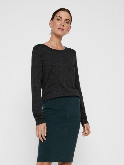Knitwear Woman Dark Grey Vero Moda