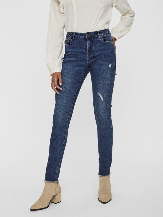Jeans Mulher  Slim Vero Moda