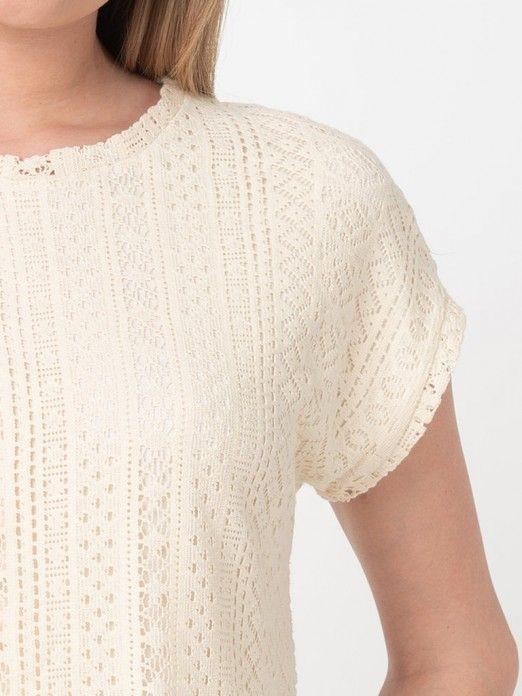 T-Shirt Mulher Oleaava Vero Moda