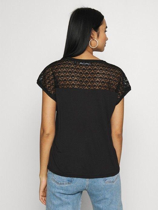 T-Shirt Mulher Sofia Lace Noos Vero Moda