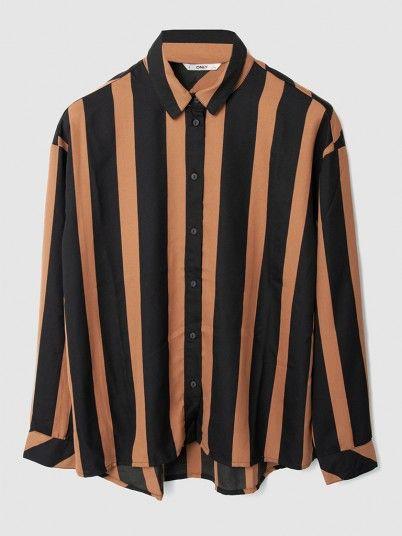 Shirt Woman Black Stripe Only