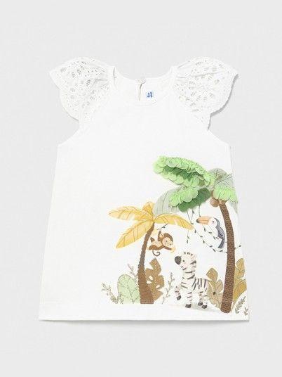 Dress Baby Girl White Mayoral