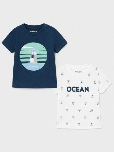 Pack T-Shirts Bebé Menino Mayoral