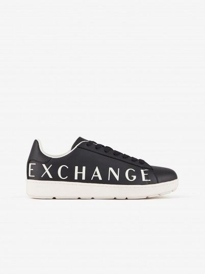 Sneakers Man Dark Blue Armani Exchange