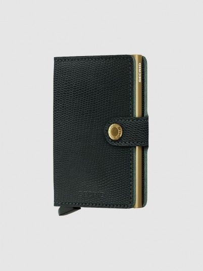 Wallet Woman Dark Green Secrid
