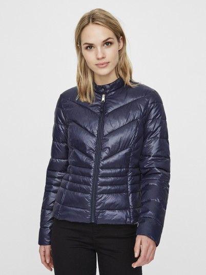 Jacket Woman Navy Blue Vero Moda