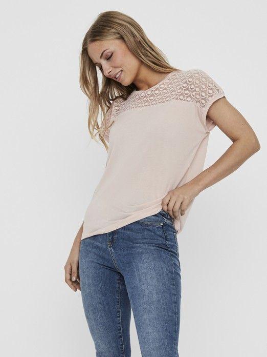 T-Shirt Mulher Sofia Vero Moda