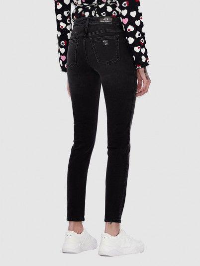Pants Woman Black Armani Exchange