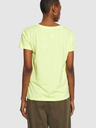 T-Shirt Woman Green Armani Exchange