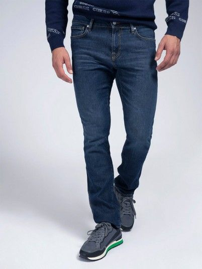 Jeans Man Dark Jeans Guess