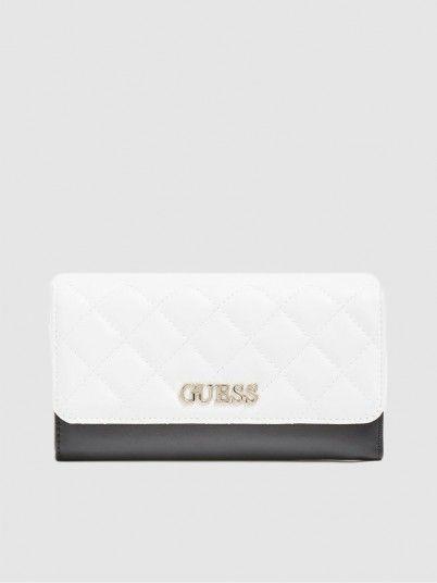 Wallet Woman White Guess