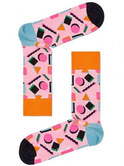 Meia Mulher Nineties Happy Socks