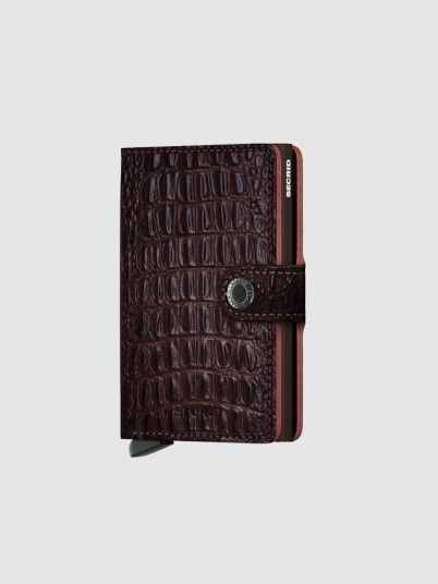 Wallet Woman Dark Brown Secrid
