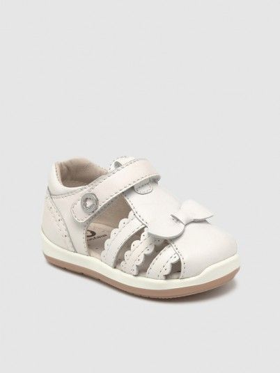 Sandals Baby Girl White Mayoral