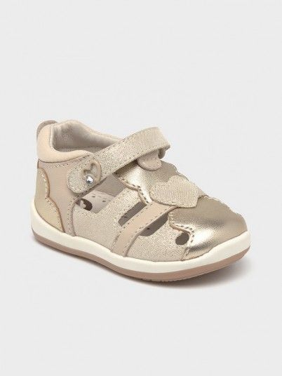 Sandals Baby Girl Golden Mayoral