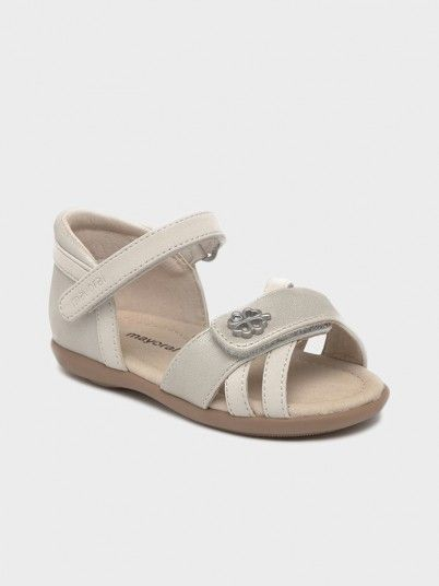 Sandals Baby Girl Cream Mayoral
