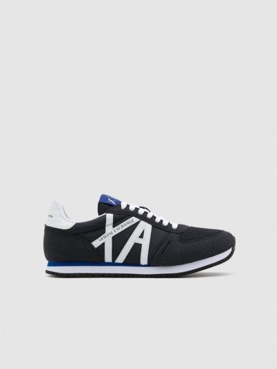 Sneakers Man Navy Blue Armani Exchange