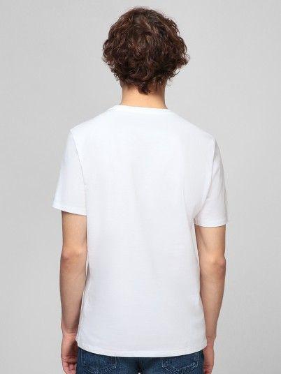 T-Shirt Man White Guess