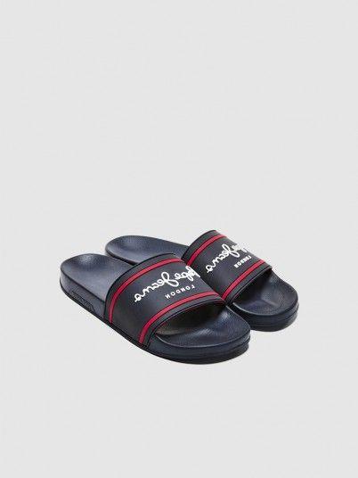 Chinelo Homem Slider Basic Pepe Jeans