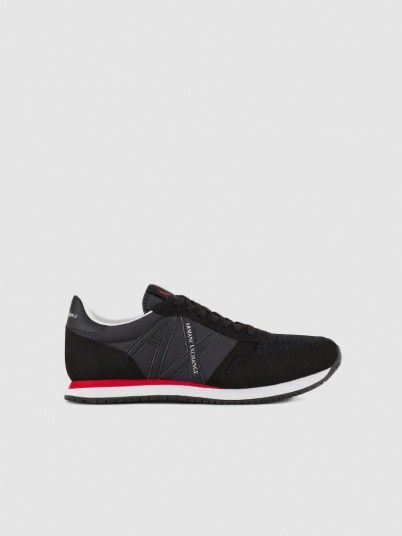Sneakers Man Black Armani Exchange